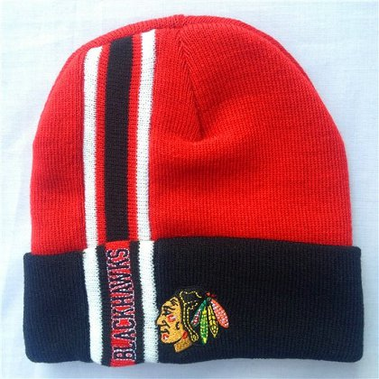 Chicago Blackhawks Beanie-sf